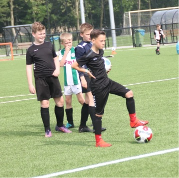 Kledinglijn van de Voetbalschool